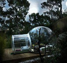 Rede de hotéis constrói hospedagens que são bolhas em meio à natureza - Notícias - LUGARCERTO