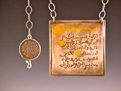 Koran amulet  -- made by mark kaplan