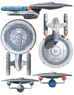 Schematics of U.S.S. Enterprise NCC-1701 C