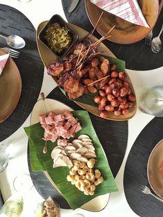 Assorted thai sausages