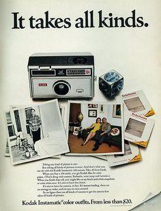 1968 Kodak Instamatic 104 Camera & Film | Flickr - Photo Sharing!