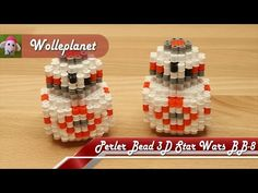 Perler Bead 3D Star Wars BB-8 - YouTube