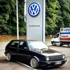 VW Golf MK2 BBS, Low