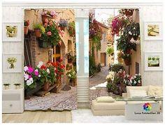 Fotogardinen Vorhänge IN Luxus Fotodruck 3D 2 TLG Maßanfertigung   eBay