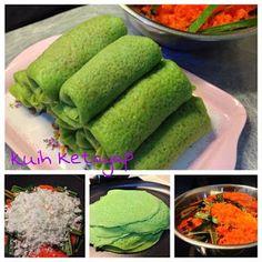 Kuih Ketayap (Crepe with sweet coconut filling) - by Shirley Ho   Baking's Corner