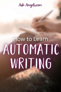 Automatic Writing is a wonderful way to receive guidance from your guides and angels. Learn how to automatic write with this safe, fun, and effective method Psychic Development, Spiritual Development, Spiritual Guidance, Spiritual Practices, I Cant Do This, Angel Prayers, Out Of Body, Divine Light, Knowledge And Wisdom