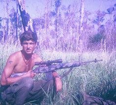 Sniper for B Company, 1/7 Cav - Vietnam War