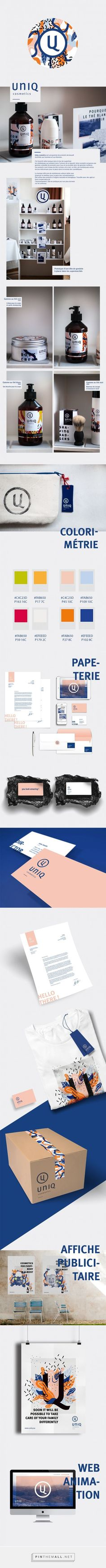 UNIQ Cosmetics Branding and Packaging by Adele Peers   Fivestar Branding Agency – Design and Branding Agency & Curated Inspiration Gallery