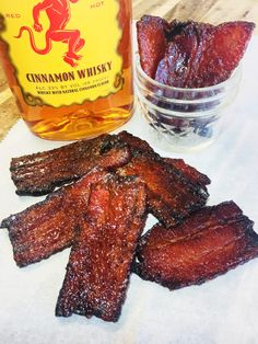 Bacon Appetizers, Appetizer Recipes, Snack Recipes, Cooking Recipes, Sweets Recipes, Fireball Recipes, Whiskey Recipes, Alcohol Recipes, Drinks Alcohol