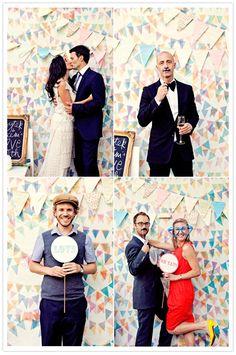 Slingers voor bruiloft
