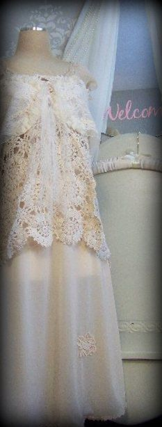 Lace Baby Doll Dress BY THE SEA Valentines DaySpecial by tamilyn, $135.00