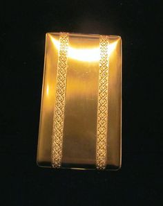 Vintage Cigarette Case Elgin American Cigarette Case 1950s  Elgin Cigarette Case