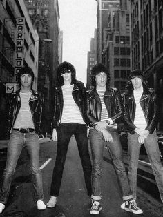 THIS IS STYLE. Chucks officially got cool when the Ramones put a Converse sneaker on their 1976 album cover. However, according to Tommy Ramone, the band actually favoured Keds, saying 'It's basically an urban legend that the Ramones always wore Chuck Taylors.' OK, just on album covers then. #THISISSTYLE