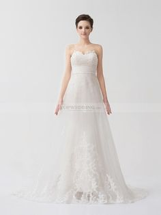 Sequined Appliqued Satin Mermaid Wedding Dress with Detachable Lace Overlay