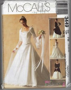 Wedding Gown or Bridesmaid Dress Two Piece with by MiAbDryGoods