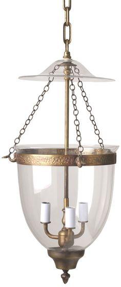 Medium Smoke Bell Lantern thestylecure.com