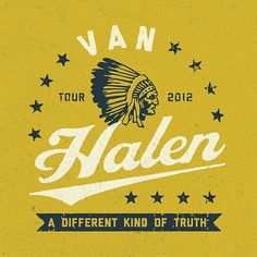 Van Halen's 2012 tour by pavlovvisuals
