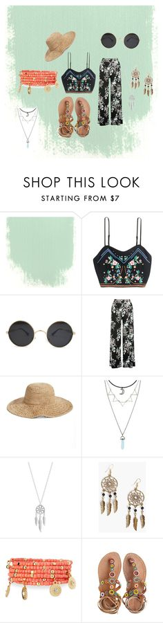"""Untitled #602"" by rachel-janney ❤ liked on Polyvore featuring M&Co, Nordstrom, Lucky Brand, Boohoo, Emily & Ashley and Laidback London"