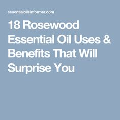 Rosewood essential oil can be used for many things, including helping your brain, skin, or libido. Find out more about rosewood essential oil here! Rosewood Essential Oil, Essential Oil Uses, Beauty Spa, Oil Benefits, Detox, Essentials, Health, Cleaning Tips, Soaps