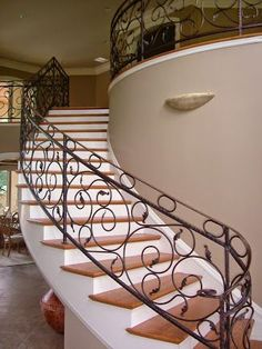 125 Best Curved Staircase Images Curved Staircase Staircase Stairs | Round Stairs Railing Design | Metal | Silver | Loft | Stainless Steel | Brown