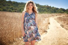 This dress is patched together perfectly. Jessica Simpson for Motherhood Maternity