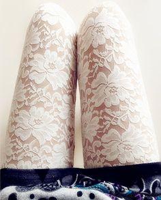 Vintage Flower Lace Carved Leggings only $25 in ByGoods.com!