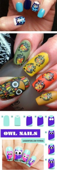 One beautiful attach art that you would adulation to see on your nails is owl attach art. Owls accept become absolutely a admired attach architecture for w