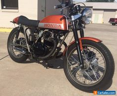 1975 Honda CB #honda #cb #forsale #canada
