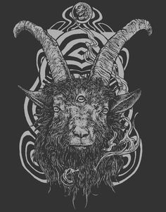 Goat 'em all on Behance by Rotten Fantom