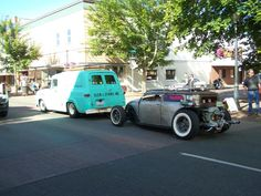 Air-cooled, chicken nugget rat rod.  Parts is parts, right?
