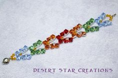 Butterfly Bracelet - free pattern at Fire Mountain (gallery page)