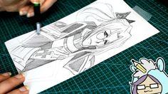 Abel Nightroad Pencil Sketch