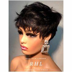 Pixie Cut 100% Human Hair Wig