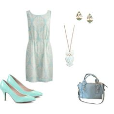 """Summer blues"" by certainstyle on Polyvore"