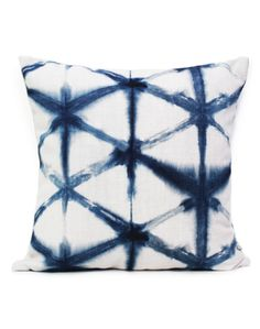 Shibori Star has been lovingly hand dyed recreating the ancient Japanese technique of Shibori, then digitally printed by Sparkk. Available at The Pattern Collective