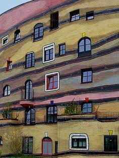 Hundertwasser Haus, Hessen, Germany  Click and like my Facebook page: https://www.facebook.com/SeedingAbundanceNow