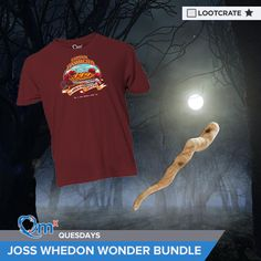 I'm entered to win the Joss Whedon Wonder Bundle courtesy of QMx & Loot Crate! #QMxQuesdays #lootcrate