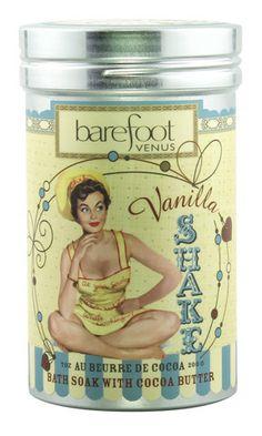 Barefoot Venus - Vanilla Shake Bath Soak with Cocoa Butter