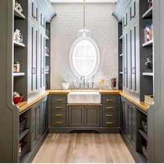 """185 Likes, 3 Comments - Caitlin Creer Interiors (@caitlincreerinteriors) on Instagram: """"Pantry goals coming true from a recent project with @cscabinetry"""""""
