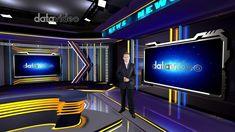 Dark Fashion LED lights News Studio | Datavideo Virtualset Virtual Studio, News Studio, Dark Fashion, Led, Lights, Lighting, Light Fixtures, Rope Lighting, Lamps