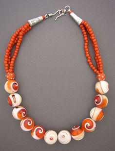 Bloodmouth Conch Beads