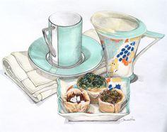 Artichoke & Olive Tartlets