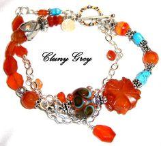 Carnelian Bracelet Raj Collection Return to Cluny Grey Jewelry Cluny Grey Jewelry http://www.clunygreyjewelry.com