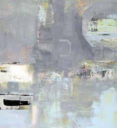 Alexis Portilla: Blue Planet. Oil on canvas. 48 x 44in. #abstract #artwork #painting. Available @birnamwoodart www.birnamwoodart.com