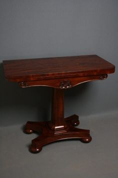 William IV Games Table on AntiqueForSale from Nimbus Antiques