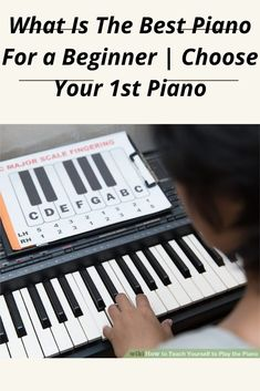 Imagine you have registered for piano lessons or are planning to get into piano lessons to fulfill your long lost desires. Best Piano, Piano Lessons, Getting To Know, Lost, Good Things, Teaching, How To Plan, Piano Classes, Education