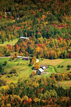 Vermont's Northeast Kingdom is a world apart, crowned by color-filled autumn vistas, historic byways, and secluded mountain lakes.   Photo: Corey Hendrickson
