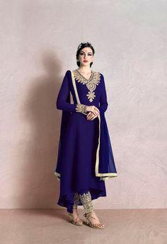 Heavy Embroidered Neck Line Salwar Kameez @ fashionsbyindia.com #designs #indian #womens #style #cloths #stylish #casual #fashionsbyindia #punjabi #suits #wedding #chic #elegance #beauty #outfits #fantasy #embroidered #dress #PakistaniFashion #Fashion #Longsuit #FloralEmbroidery #Fashionista #Fashion2015 #IndianWear #WeddingWear #Bridesmaid #BridalWear #PartyWear #Occasion #OnlineShopping #salwar #kameez #palazzo