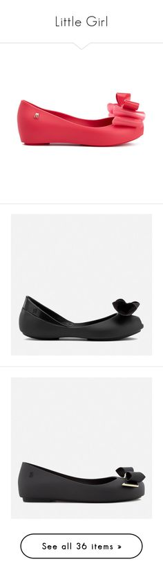 """""""Little Girl"""" by aryana ❤ liked on Polyvore featuring shoes, flats, pink, ballet pumps, pink flats, patent leather flats, peep-toe flats, patent leather ballet flats, black and peep toe flats"""