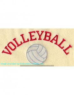 Stickbild Volleyball
